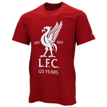 New Balance  Liverpool 17/18 125 CREST TEE - Red AMT71595RDP