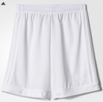 Adidas Kid's Squad 17 Shorts - White BK4774