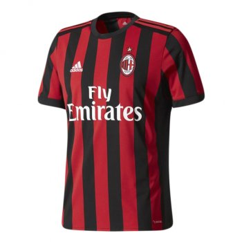 Adidas AC Milan 17/18 (H) S/S Men's Jersey AZ7069 With Nameset