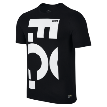 Nike F.C. Print Men's Tee Shirt  - Black 847187-010