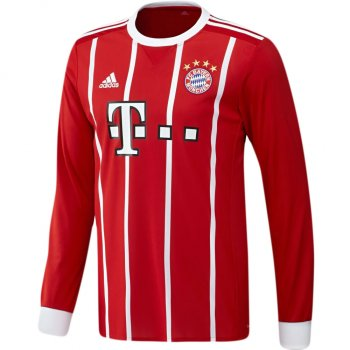 Adidas FC Bayern 17/18 (H) L/S Men's Jersey AZ7959