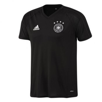 Adidas National Team Germany 2017 Kid's Training Jersey - Black B10553