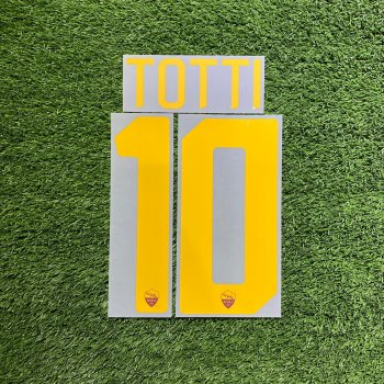 AS Roma 17/18 (H) Nameset #10 TOTTI