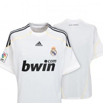 Adidas Real Madrid 09/10 (H) S/S
