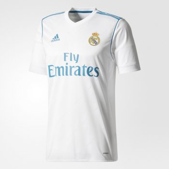 Adidas Real Madrid 17/18 (H) S/S JSY AU B31097