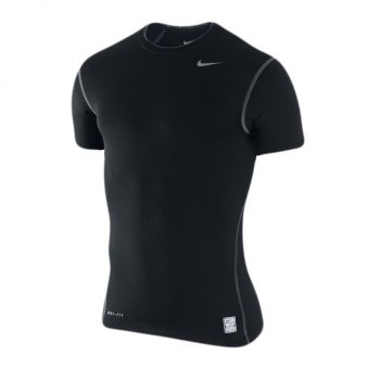 Nike Pro Combat Core Compression Shirt S/S Black 269603-010