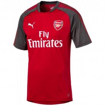 Puma Arsenal FC 17/18 Training Jersey with Sponsor Chili Pepper-Dark Shadow 751711-03