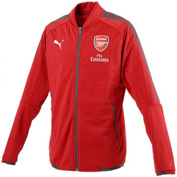 Puma Arsenal FC 17/18 Stadium Jacket with Sponsor 751697-03