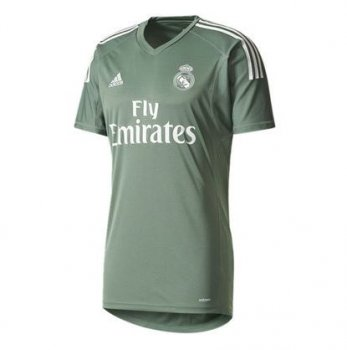 Adidas Real Madrid 17/18 (H) S/S Goalkeeper Jersey B3110