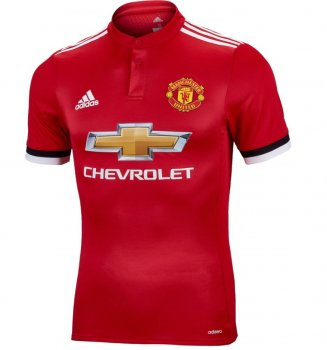 Adidas Manchester United 17/18 (H) S/S Authentic Jersey BQ7278