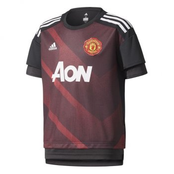 Adidas Manchester United 17/18 S/S Pre-match Youth Jersey BS2594