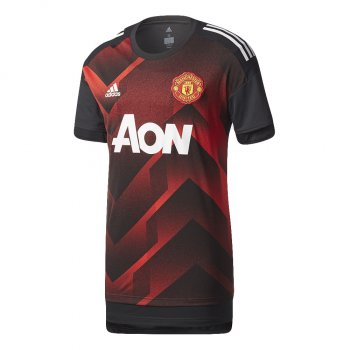 Adidas Manchester United 17/18 Mens Pre-Match Training Shirt BS2608
