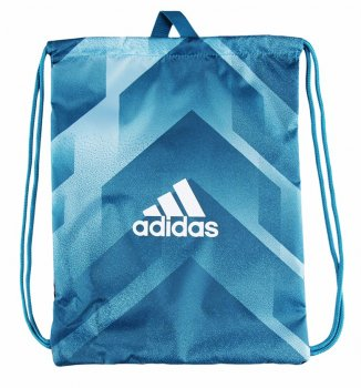 Adidas 2017 Tango Gym Sack Shoe Bag Blue BR1683