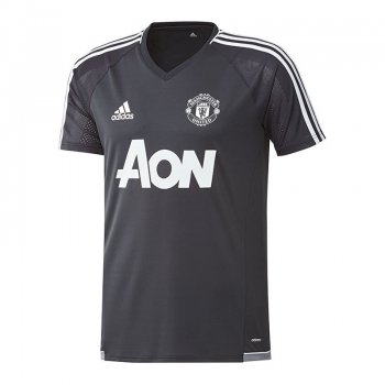 Adidas Manchester United 17/18 Mens Training Shirt (Black) BS4439