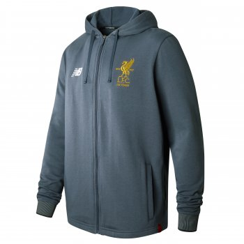 New Balance Liverpool 17/18 Elite Travel Hoody Grey MT730379