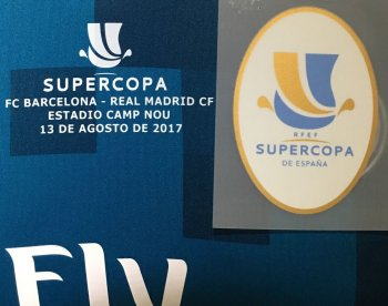SUPERCOPA RM 17/18 BADGE WITH 13/8 DATE