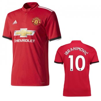 Adidas Manchester United 17/18 (H) Jersey BS1214  with printing