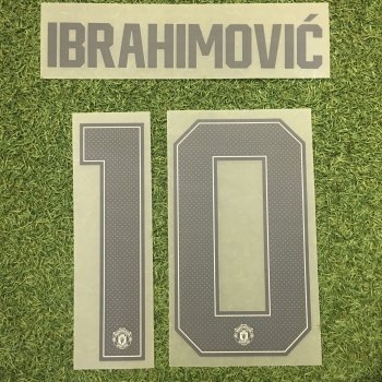 Manchester United 17/18 (3RD) Letters and Numbers
