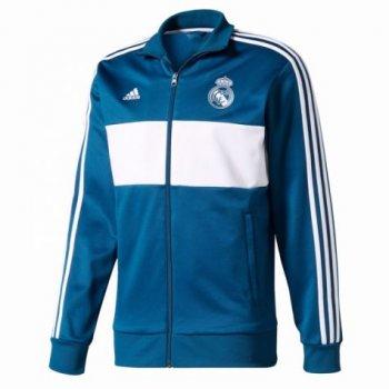 Adidas Real Madrid 17/18 3-Stripes Track Jacket BR2496