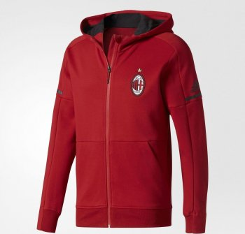 Adidas AC Milan 17/18 Anthem Jacket - Red BP8186