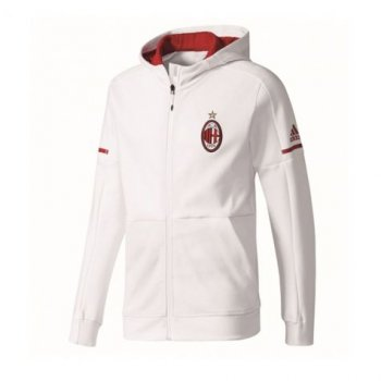 Adidas AC Milan 17/18 Anthem Jacket - White BP8189