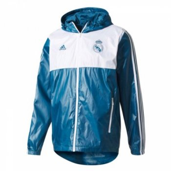 Adidas Real Madrid 17/18 3-Stripes Windbreaker BR2543