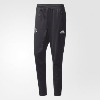 Adidas Manchester United 17/18 Training Pants - Black BS4326