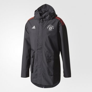 Adidas Manchester United All-Weather Jacket - Black CE8112