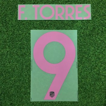 Atletico Madrid 17/18 UCL (3RD)  Nameset