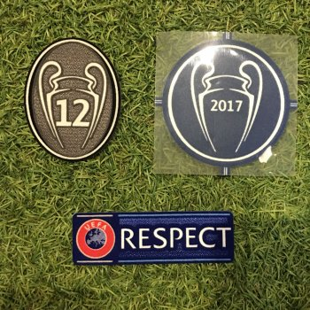 UEFA Champions League 2016 Champion Badge Set for Real Madrid