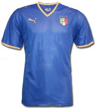 Puma National Team 2008 Italy (H) S/S