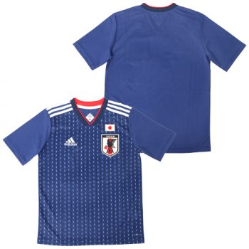 Adidas Japan 2018 (H) S/S Kid's Jersey BR3644  (Japan Version)