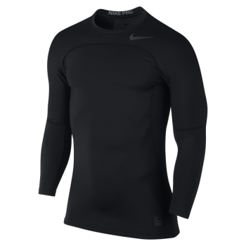 Nike Pro HyperWarm L/S Top - Black 838023-010