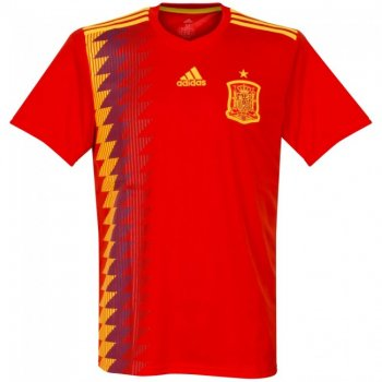 Adidas 2018 World Cup Spain (H) Men's Jersey CX5355