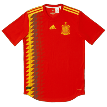 Adidas 2018 World Cup Spain (H) Authentic Jersey BR2724 + Player Namest