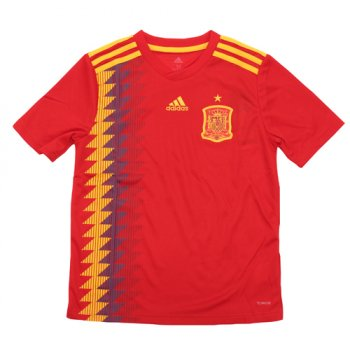 Adidas National Team 2018 Spain (H) Kids Jersey BR2713
