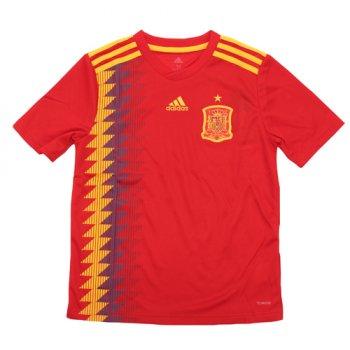 Adidas National Team 2018 Spain (H) Kids Jersey BR2713