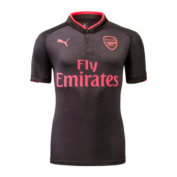 Puma Arsenal FC 17/18 (3rd) S/S Men's Jersey with  Nameset and Europa League Badge 751515-06