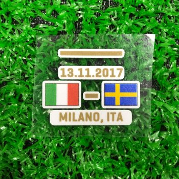 FIFA 2017 ITA VS SWE MATCH DAY 13.11.2017