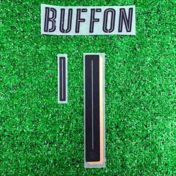National Team Euro 2016 Italy (GK) Letters and Numbers #1 Buffon