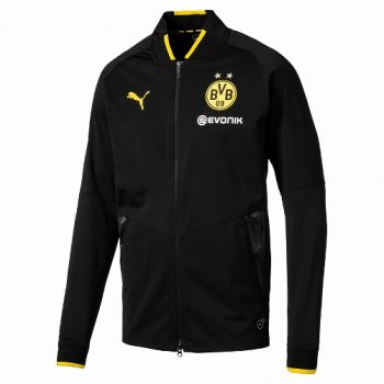 Puma BVB 17/18 Stadium Jacket - Black 752855-02