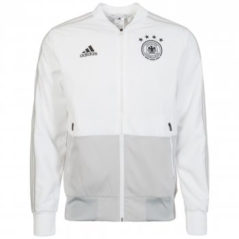 Adidas National Team 2018 Germany Presentation Jacket - White CE6587