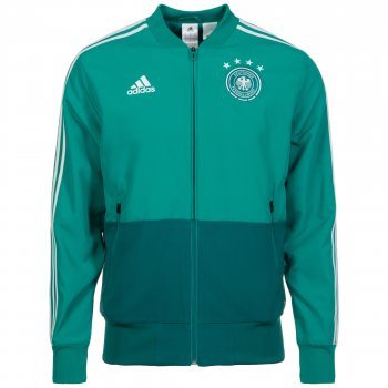 Adidas National Team 2018 Germany Presentation Jacket - Turquoise CE6588