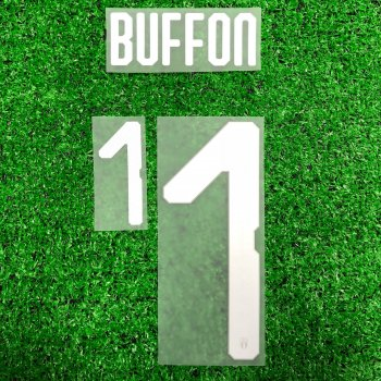National Team Euro 2018 Italy (H) #1 Buffon Letters and Numbers (Player Version)
