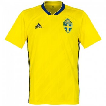 Adidas National Team 2018 World Cup Sweden (H) S/S Jersey BR3838