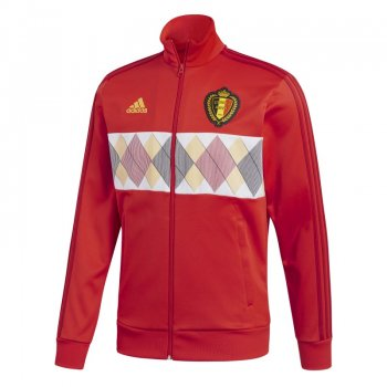 Adidas National Team 2018 World cup Belgium 3-Stripe Track Top CF8927