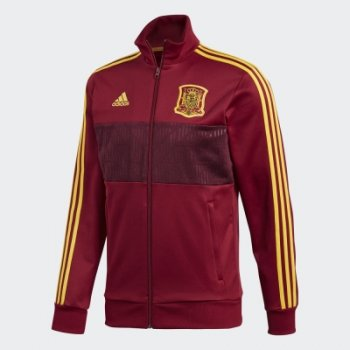 Adidas National Team 2018 Spain 3-Stripes Track Top CE8848