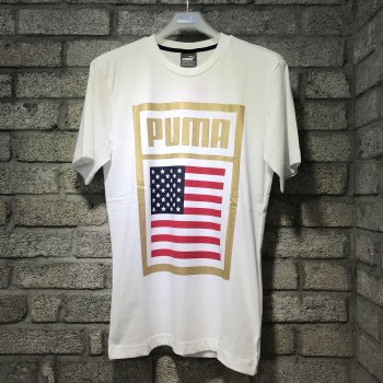 Puma Forever Football Country Cotton Tee USA 752649-07