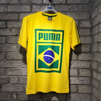Puma Forever Football Country Cotton Tee Brazil 752649-09