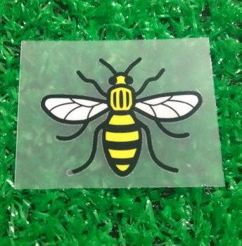 Manchester United / City Iconic Worker Bee Badge